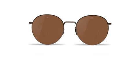 Vuarnet - Swing 1610 Matte Gunmetal Sunglasses / Pure Brown Lenses