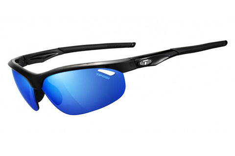 Tifosi - Veloce Gloss Black Sunglasses, Interchangeable AC Red / Clarion Blue / Clear Lenses