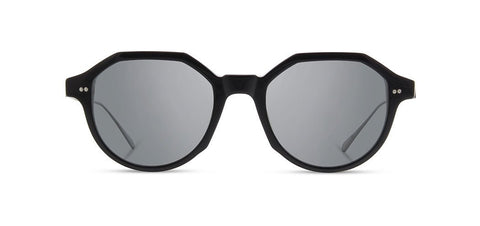 Shwood - Powell Black Sunglasses / Grey Polarized Lenses