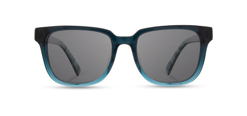 Shwood - Prescott Deep Sea Sunglasses / Grey Lenses
