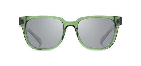 Shwood - Prescott Emerald Sunglasses / Grey Lenses
