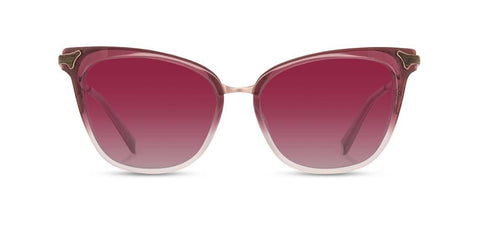 Shwood - Arlene Sakura Fade Sunglasses / Rose Fade Polarized Lenses