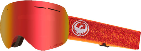 Dragon - X1S Maze Snow Goggles / Red Ion + Rose Lenses