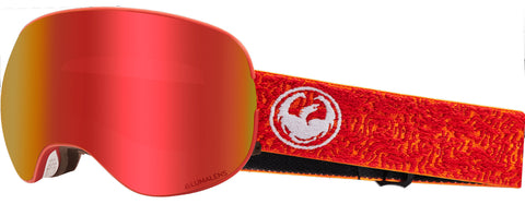 Dragon - X2 Maze Snow Goggles / Red Ion + Rose Lenses