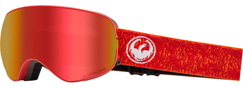 Dragon - X2S Maze Snow Goggles / Red Ion + Rose Lenses