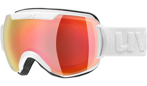 UVEX Sport - Downhill 2000 FM Matte White Snow Goggles / Red Mirror Lenses
