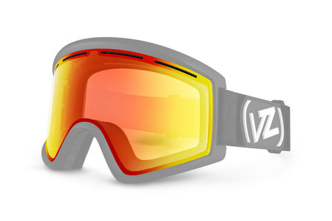 VonZipper - Cleaver Clear Chrome Orange Snow Goggle Replacement Lens