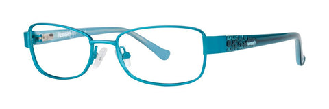 Kensie - Petal 49mm Sea Green Eyeglasses / Demo Lenses