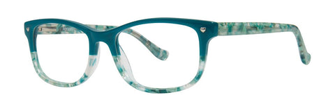 Kensie - Splash 47mm Sea Green Eyeglasses / Demo Lenses