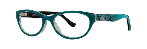 Kensie - Alive 48mm Clover Green Eyeglasses / Demo Lenses