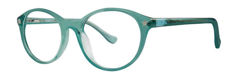 Kensie - Fame 46mm Green Eyeglasses / Demo Lenses