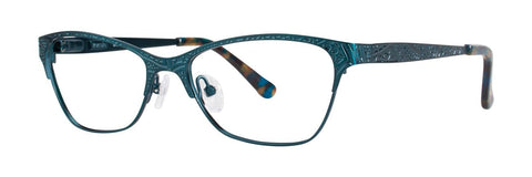 Kensie - Dreamy 52mm Sea Green Eyeglasses / Demo Lenses