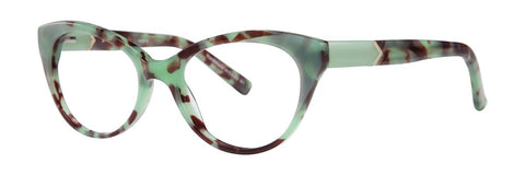 Kensie - Aspire 50mm Green Tortoise Eyeglasses / Demo Lenses