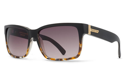 VonZipper - Elmore Black Tortoise TBK Sunglasses, Brown Gradient Lenses
