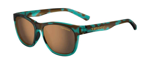 Tifosi - Swank Blue Confetti Sunglasses / Brown Polarized Lenses