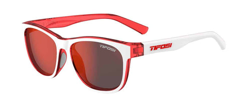 Tifosi - Swank Icicle Red Sunglasses / Smoke Red Lenses