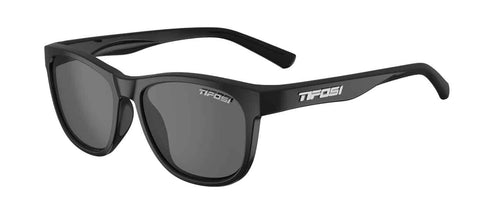 Tifosi - Swank Satin Black Sunglasses / Smoke Polarized Lenses