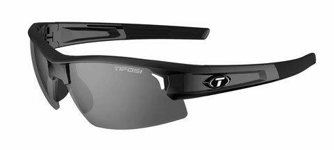 Tifosi - Synapse Gloss Black Sunglasses / Smoke Polarized Lenses