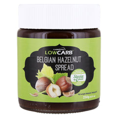 Low Carb® Belgian Hazelnut Spread (250g) - CarbZone - 1