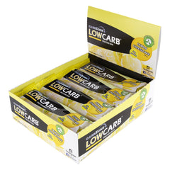 Low Carb® Lemon Cheesecake Protein Bar 65g - 12 PACK - CarbZone - 1