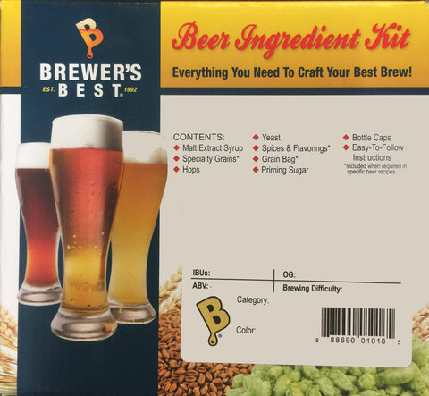 Brewer's Best MILK STOUT INGREDIENT PACKAGE CLASSIC
