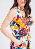 LIVING IN COLOR ROMPER BY VERONICA M