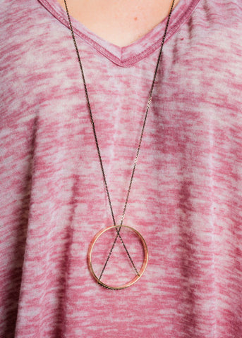ROUND THE WAY NECKLACE