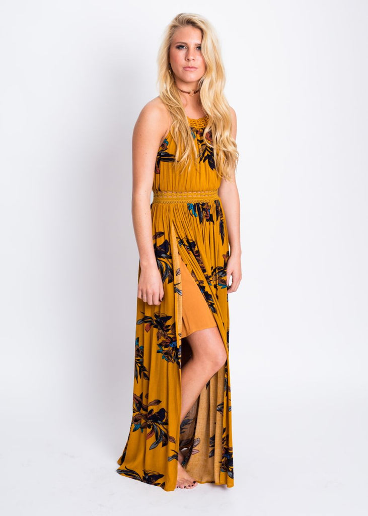 FREE AS CAN BE MAXI DRESS
