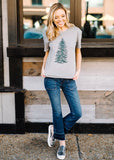 CHRISTMAS PINE TEE BY SCARLET & GOLD