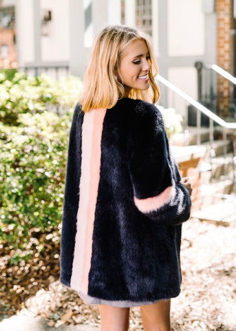 MAGGIE FAUX FUR COAT BY TART COLLECTIONS