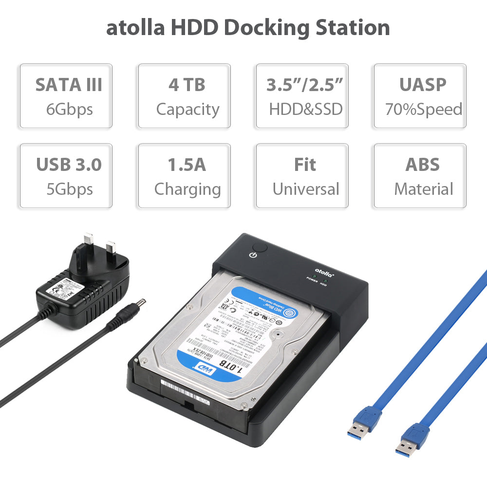 atolla USB 3.0 HDD Docking Station (326)