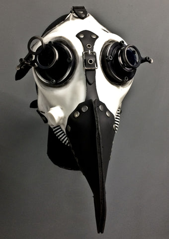 Gas Mask - War - White