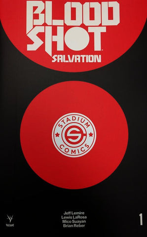 Bloodshot Salvation #1 Logo Variant Cover EXCLUSIVE