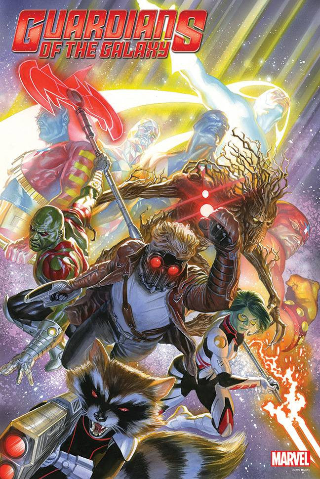 GUARDIANS OF GALAXY #18 BY ALEX ROSS POSTER