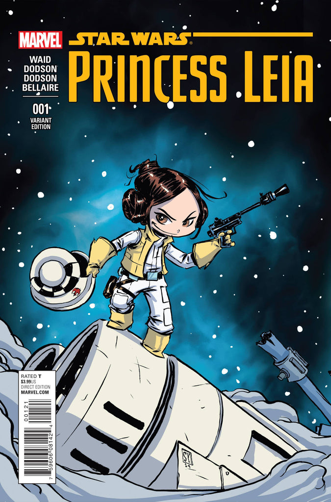 PRINCESS LEIA #1 (OF 5) YOUNG VARIANT