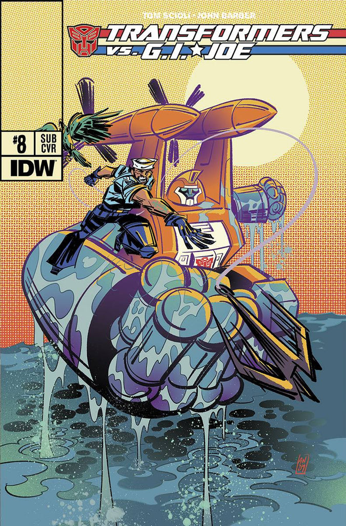 TRANSFORMERS VS GI JOE #8 SUBSCRIPTION VARIANT
