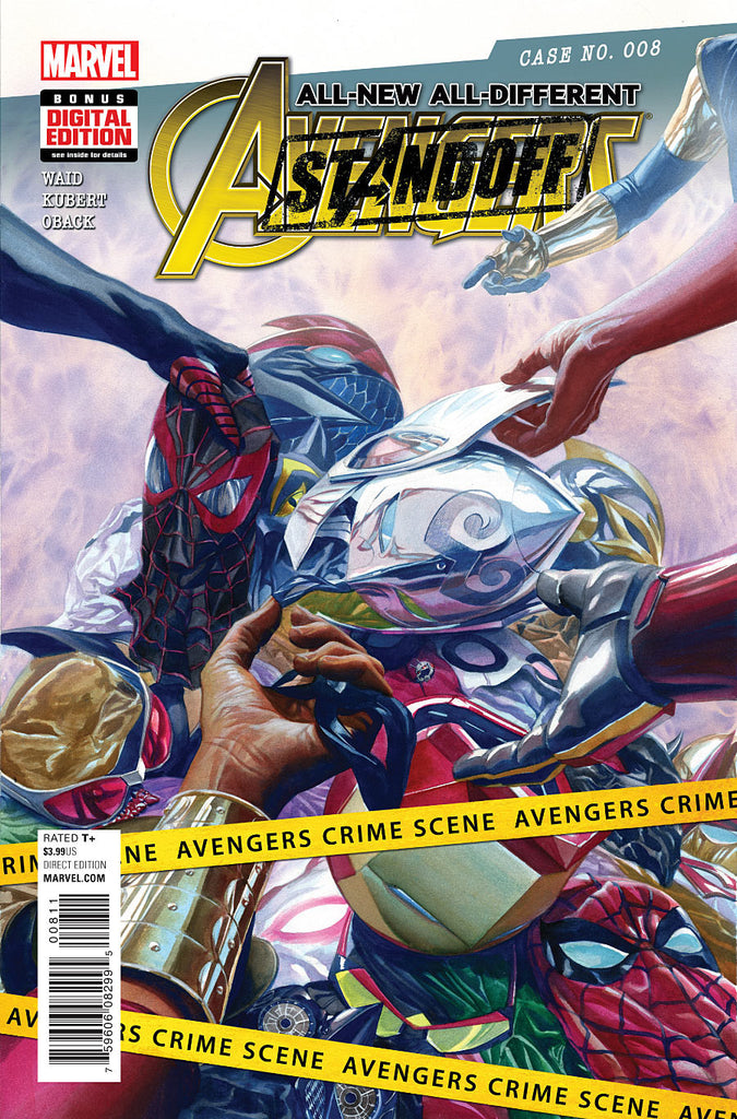 ALL NEW ALL DIFFERENT AVENGERS #8