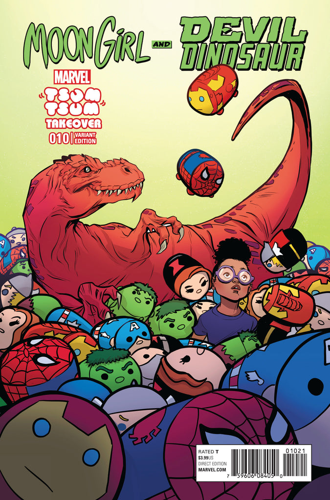 MOON GIRL AND DEVIL DINOSAUR #10 TSUM TSUM VARIANT
