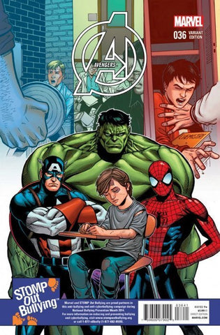 AVENGERS #36 STOMP OUT BULLYING CHEN 1:15 VARIANT TRO