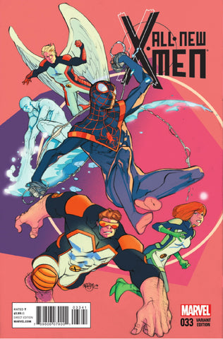 ALL NEW X-MEN #33 FERRY 1:15 VARIANT