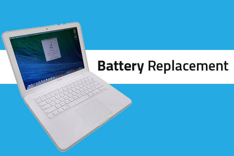 Macbook 13 inch White Battery Replacement