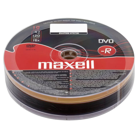 Maxell DVD-R (10 Pack)