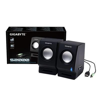 Gigabyte S2000 2.0 Channel USB Powered Stereo Speakers