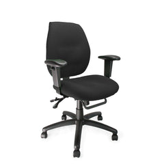 SEVERN • Ergonomic Medium Back Multi-functional Task Operator Chair with Adjustable Arms