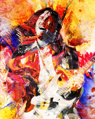 John Frusciante Art - Red Hot Chili Peppers