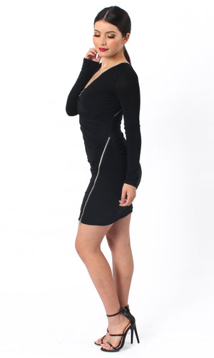 Alexandra Zipper Dress