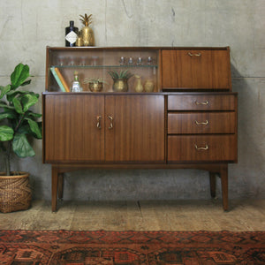 Mid Century Drinks Cabinet / Sideboard – 2604d