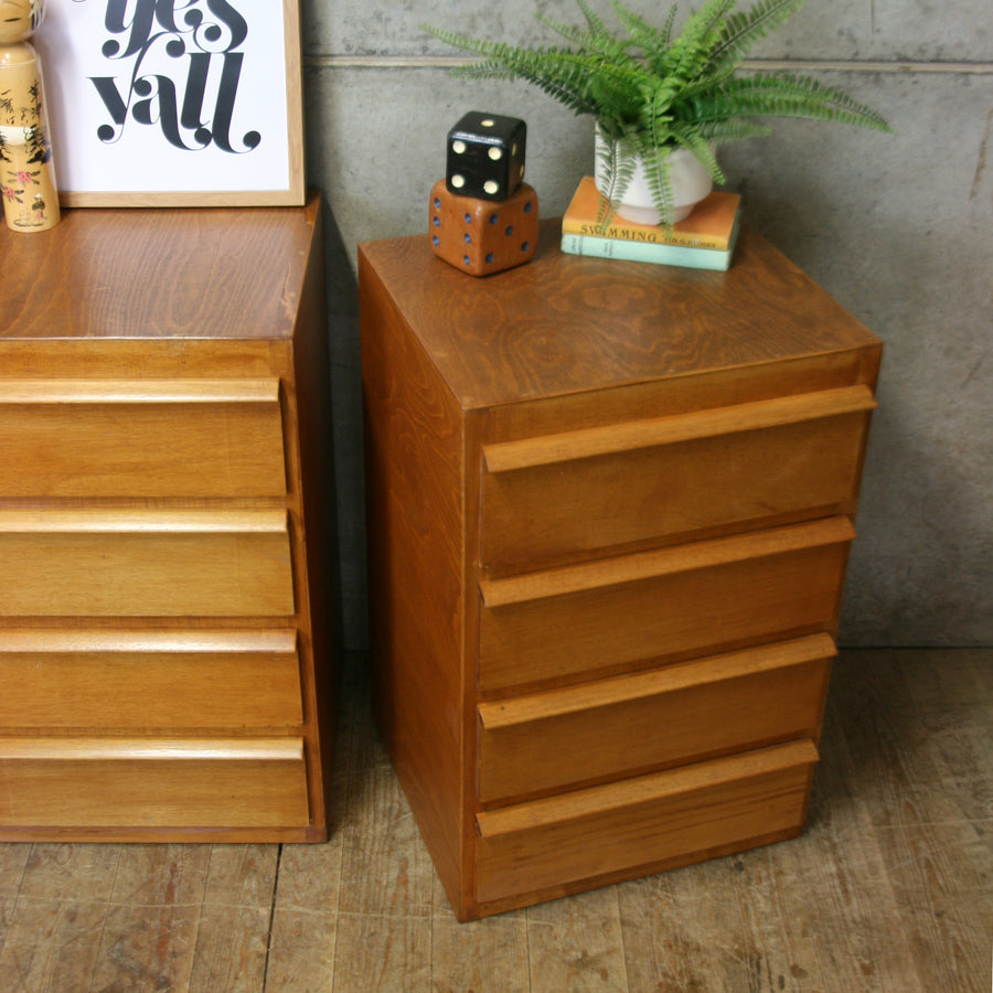 vintage_rustic_plywood_mid_century_drawers