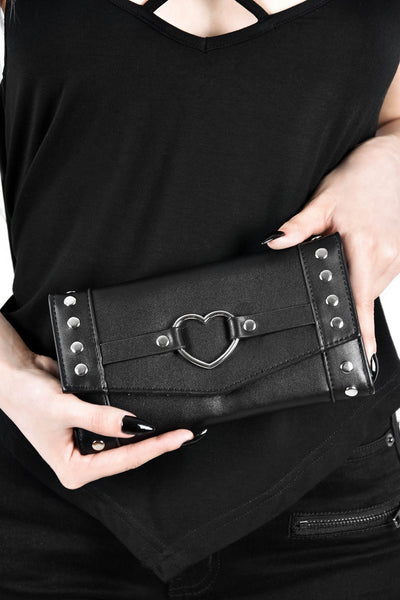 I Heart Metal Wallet [B]