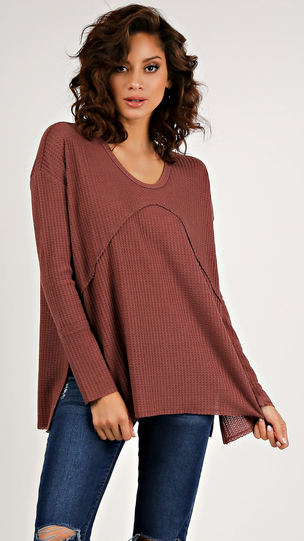 Fall In Line Thermal Top... - Msky